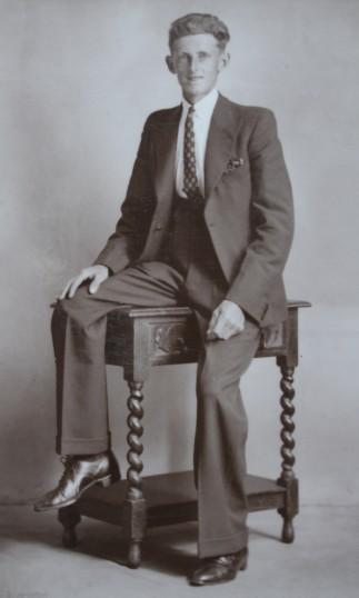 Jack Bell of Pymoor, circa 1945