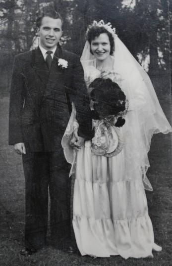 The Wedding of Derek Hills & Hazel Godbold of Pymoor