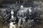 Hilda, Horace & Flo Brown of Pymoor.