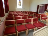 New chairs for Pymoor Methodist Chapel, Main Street, Pymoor.