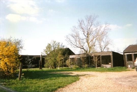 Farm buildings at rear of Meadowview, 1 Straight Furlong, Pymoor.