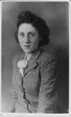 Pearl Taylor of Pymoor, circa 1945