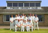 Pymoor Cricket Club team before their opening home game against Doddington on 9th June 2007. Pymoor had a very successful season winning their league.