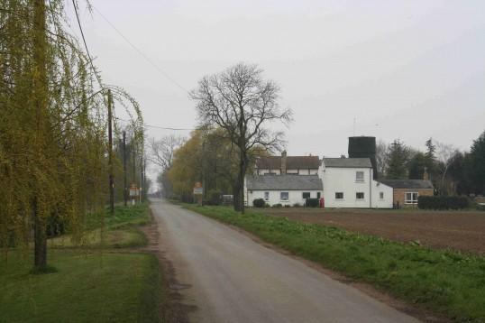 Pymoor Lane & the Old Mill