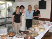 Catering for the Pymoor Show in the Pymoor Social Club. 2007