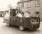 Carnival float in Main Street, Pymoor, 1968.