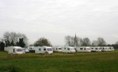 Caravan Rallies are frequently held on land leased by the Pymoor Social Club in Pymoor Lane 2007