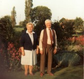 Albert and Nora Bartle at 11, Straight Furlong, Pymoor.