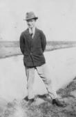 Albert Bartle Jnr on the 100 Foot Bank, Oxlode, Pymoor.