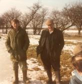 Perce Harrison and Ben Easy, Pymoor, 1985.