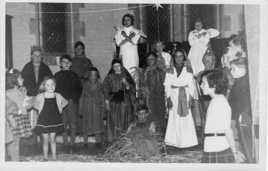 Nativity Play in Pymoor.