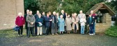 A group outside the Methodist Chapel, Main Street, Pymoor 2000.