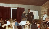Pymoor Cricket Club Dinner 1992 with Essex and England cricketer Derek Pringle as Guest Speaker.
