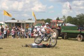 One of the exciting events in the Main Arena at the Pymoor Show, 2007.