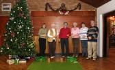 Pymoor Indoor Bowls Group in the Pymoor Social Club 2007.