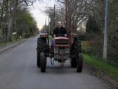 Graham Lark in Pymoor Lane.