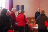 There was plenty of support at the Pymoor Methodist Chapel Christmas Bazaar 2007.