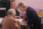 There is news to be shared over a cup of tea at the Pymoor Methodist Chapel Christmas Bazaar 2007.
