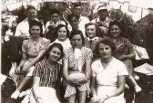 Pymoor Tennis Club, circa 1950