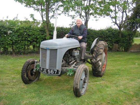 Alan Butcher in Pymoor, 2007.