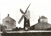 The Mill and Mixing Sheds at Pymoor circa 1927.