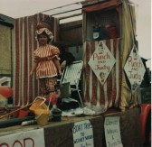 Tina Parson on a Pymoor Carnival Float. 1984