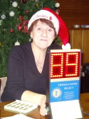 Every third Wednesday of the month Christine Saberton organises Bingo in the Pymoor Social Club 2007.