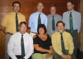 Some of the Pymoor Show Committee at the Charity Cheque Presentation Evening in the Pymoor Social Club 2007.