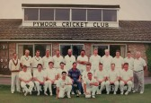 Pymoor Cricket Club v President's XI in the Frank Darby Cup Final, 1993