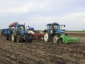 Harvesting Potatoes on Roger Parson's Farm in Pymoor.