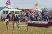 The display by the Growlies Dog Club, in the Main Arena, was a popular attraction at the Pymoor Show 2008.