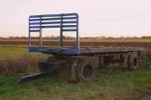 A trailer near Oxlode, Pymoor.