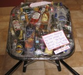 1st Prize in the Pymoor Show 2007 Raffle. What a Prize! It even included the wheelbarrow!