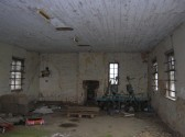The inside of the Old Memorial Hall, near the Hundred Foot Bank, Pymoor. This was once the setting for many happy dances and social events.