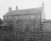 Back of the Knife and Steel Pub in Main Street Pymoor, circa 1940.