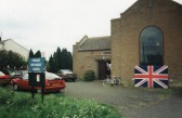 Celebrating the 50th Anniversary of VE Day at the Pymoor Methodist Chapel in Main Street, Pymoor 1995.
