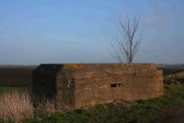 A Blockhouse or Pill Box alongside Adventurers Drove, Oxlode, Pymoor.