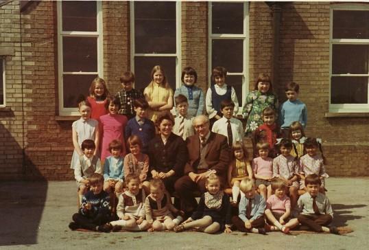 Pymoor School Photograph 1971.