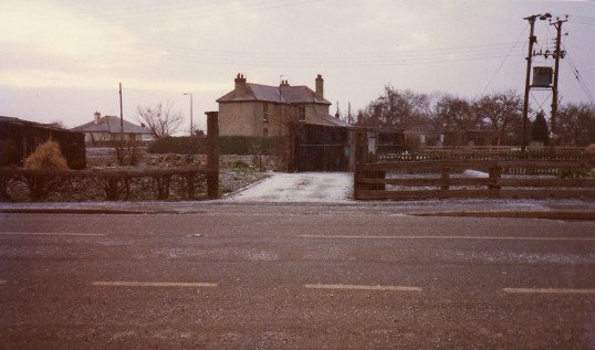 Main Street, Pymoor, near the crossroads.