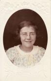 Freda Graham of Main Drove, Pymoor, circa 1933.