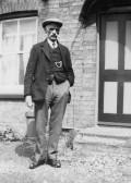 Thomas Aspland, in Main Drove, Pymoor, circa 1928