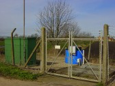 Anglia Water Sewerage Pumping Station by Westmoor Common, Pymoor.