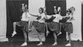Pymoor Dancing Girls, Lily Bell, May Tompson, Ruby Flemming and Ida Saberton 1932.