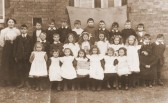 Pymoor School Photograph taken in 1908