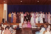 Pymoor WI Fashion Show in the WI Hall, Main Street, Pymoor. 1970