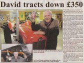 Extract from the Ely Standard about  David Savage's museum in Pymoor Lane, Pymoor.