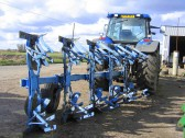 Farm Machinery at Laurel Farm, Main Drove, Pymoor, ready to be taken into the fields.