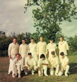 Pymoor Cricket Club, 1962