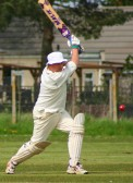 Jack Hargraves opened the batting for Pymoor Cricket Club in their opening match against Fordham CC 2nd XI 2008