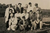 Pymoor and Oxlode Cricket Team on Tour, circa 1948